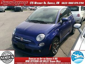 2014 FIAT 500 Sport | SUNROOF | ALLOY WHEELS