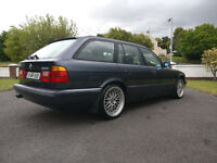 BMW E34 fitted with M3 3.2 engine S50B32 3.0 M3 M5 Touring Estate Sleeper Classic