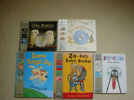 KIDS DVD STORY BOOKS-OWL BABIES, SOME DOGS DO, ZA-ZAS BABY BROTHER,YOU'R ALL MY FAVOURITES, PENGUIN,