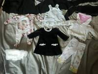 Baby clothes hooded jumper dress leggings