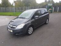Vauxhall Zafira 1.8 i 16v Desgin 5dr (2011 REG) - ONLY 61000 GENUINE LOW MILEAGE