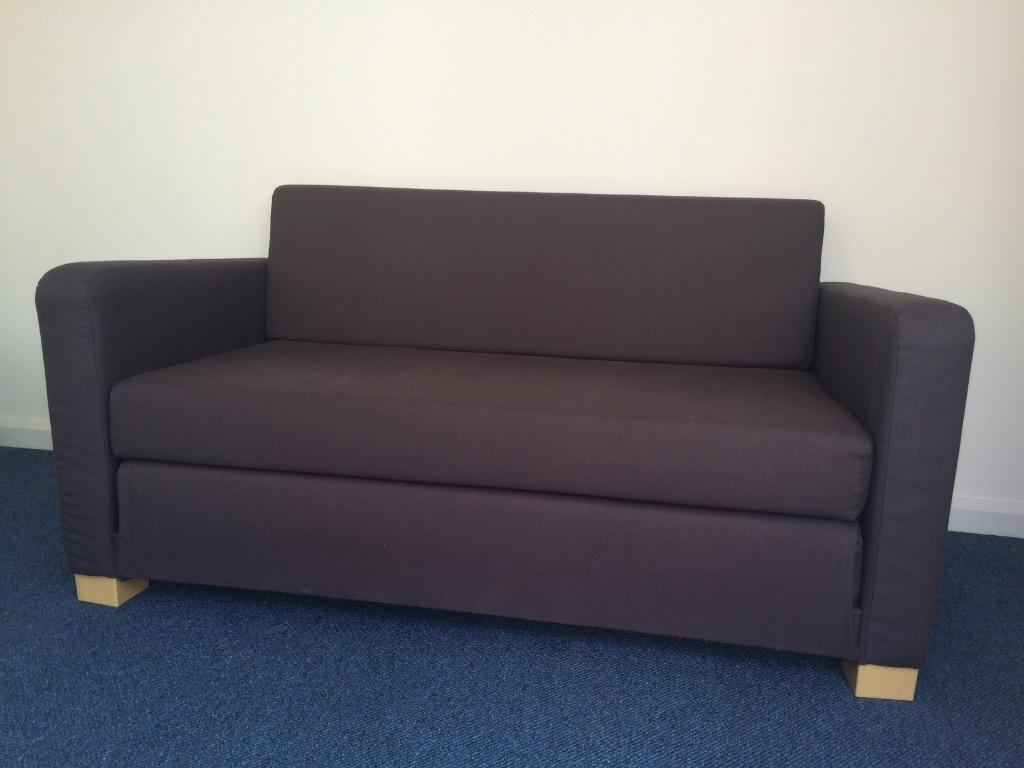 Ikea Solsta Two Seat Sofa Bed Dark Buy Sale And Trade Ads