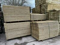 Tanalised Fence Panels ~ New ~ Timber