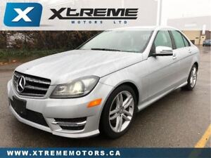 2014 Mercedes-Benz C-Class 300 4MATIC, NAVI, B/U CAMERA, BLIND S