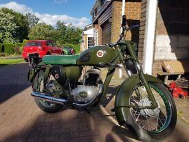 Francis Barnett Cruiser 80 1954 250cc