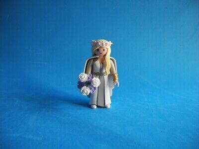 Playmobil Astrid con vestido de boda y ramo de flores Dragons Wedding...