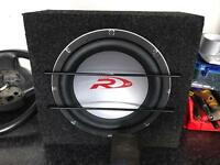 Alpine Type R 12inch subwoofer with show box