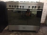 Cooker range DELONGHL gas and electric ovens 90 cm