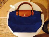 Brand new LONGCHAMP Le Pliage Small Nylon Handheld Duffle Bag