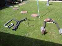 exhaust-1990 chevrolet corvette exhaust. offers.