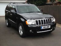 Jeep Grand Cherokee CRD Overland (2010)