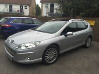 Peugeot 407 2.7 SW EXECUTIVE HDI 5d AUTO 202 BHP 12 MONTHS MOT HPI CLEAR