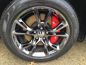Factory Jeep srt wheels for sale with nittos winter tires.