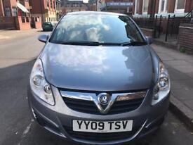 Vauxhall Corsa 2009, 1.2 Petrol 3 Door with one year Long MoT
