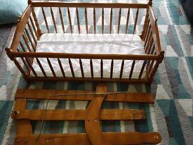 Pine crib for sale