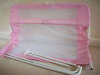 LINDAM PINK BED GUARD SAFETY RAIL PORTH AREA