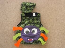 Halloween top & hat 3-5yr