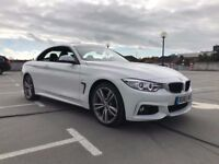 2015 65 BMW 435 X DRIVE M SPORT CONVERTIBLE TOP OF THE RANGE
