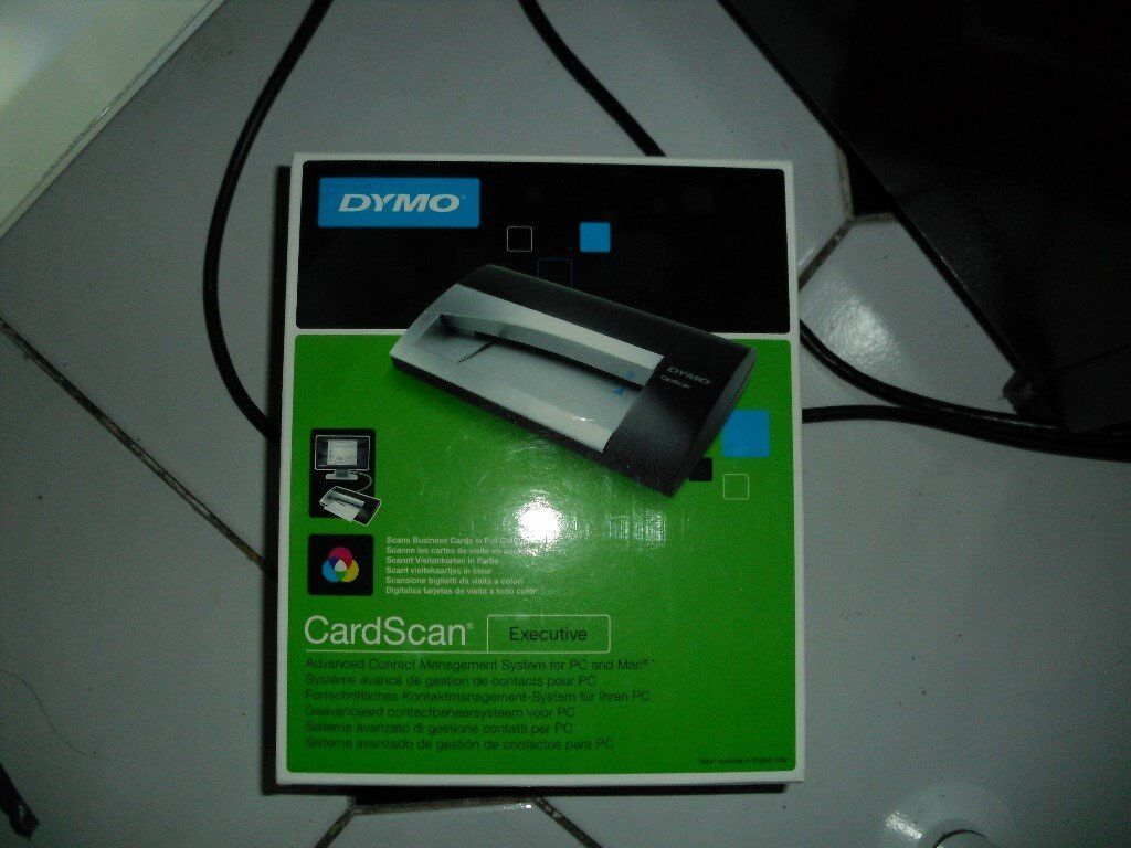 Dymo Card Scan Executive Business Card Scanner Fully Working Boxed Complete In Basingstoke Hampshire Gumtree