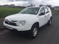 Dacia Duster Access 4x2 1.6 Petrol White 2013 Low Mileage 1 Owner from New