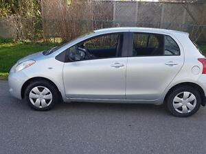 2007 Toyota Yaris LE AUTO LOADED WELL MAINTAINED AND CERTIFIED$4