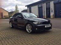 Black BMW 1 series 2.0 120i M Sport 2dr For Sale