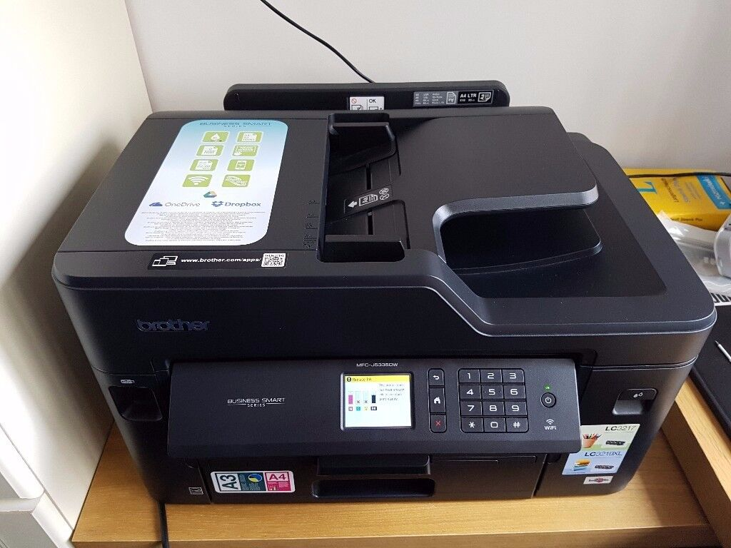 A3 Brother Wireless Printer - Business Smart Series MFC-J5335DW