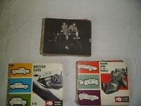 3 HIPPO BOOKS FROM 1960'S,BRITISH CARS,RACING CARS OF THE WORLD & VETERAN & VINTAGE CARS
