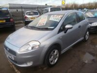 Fiat GRANDE PUNTO Active Sport,1368 cc 3 dr hatchback,Alloys,nice clean tidy car,great mpg,