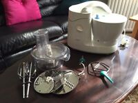 Kenwood Food Processor Blender with attachments