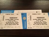 Biffy Clyro tickets X2 27th August