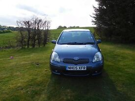 Well loved and cared for Toyota Yaris. 12 month MOT. Ideal first car