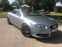 Audi A4 2.0 TFSI Convertible Special Edition S Line