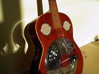 1972 MIJ Shaftesbury Resonator Guitar