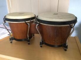 Wooden World beat bingo drum pair