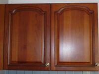 Oak kitchen cupboard doors