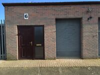 Small Industrial Unit ¦ Workshop ¦ Storage unit TO LET - flexible terms