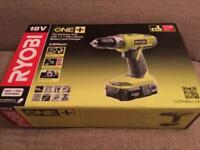 Ryobi cordless hammer drill new