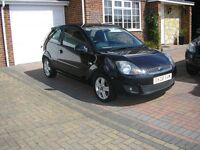 (2008) FORD FIESTA 1.4 TDCI CLIMATE MET/BLACK 3DOOR ( ONLY 61000 MILES £30 A YEAR ROAD TAX)