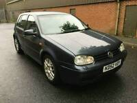 2003 VOLKSWAGEN GOLF 1.9 GT TDI 150 BHP 5 DOOR HEATED SEATS LOW MILEAGE FSH