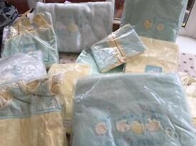 Mamas & Papas Bedroom - Curtains, Duvet, Lampshade, Toy Sack & much more