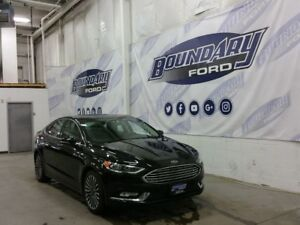 2017 Ford Fusion SE W/ Sunroof, Leather, Remote Start, Rear Cam