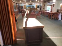 Excel Carvery Unit with hot cupboard.. Approx 5ft length, 3ft width and 4 ft height.