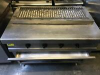 Charcoal gas grill stone grill commercial catering kitchen equipment restaurant kebab shop