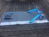 Tacx turbot trainer.