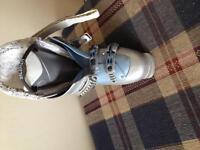K2 Ski's, Marker bindings, Salomon boots