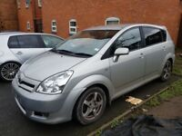 TOYOTA COROLLA VERSO FULLY LOADED FULL SERVICE HISTORY 1 OWNER FROM NEW £1800 NO OFFERS CHEERS