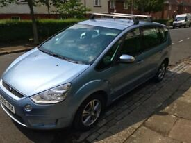 Year 2008 Ford S-Max Zetec TDCI 7 Seater Diesel, Low Mileage - 71,000.