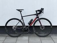 Road bicycle full carbon Specialized roubaix Ultegra front suspension