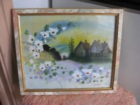 Country Cottages Painting